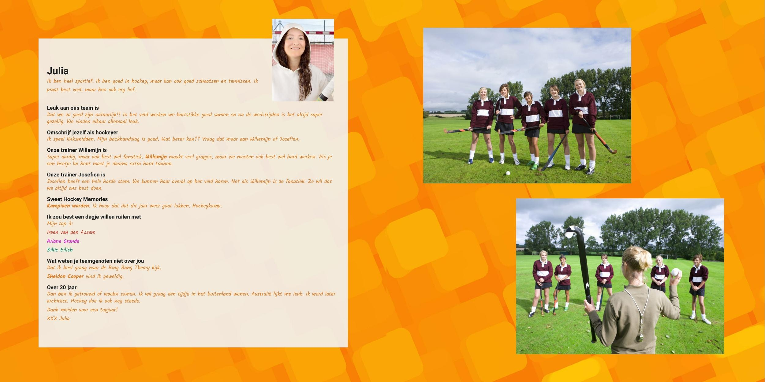 cadeau hockey coach trainer dankjewel hockeyteam