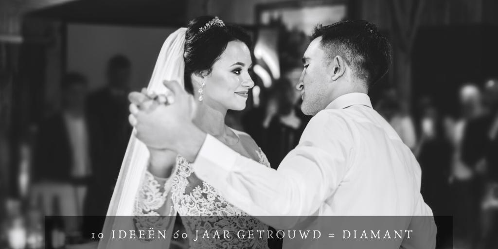 Goede 10 ideeën diamanten bruiloft | 60 jaar getrouwd | Vriendenboeken.nl VP-32